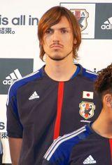 2014年のブラジルW杯出場を目指すサッカー日本代表『結束式』に出席した、ハーフナー・マイク選手 (C)ORICON DD inc.