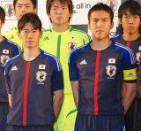 2014年のブラジルW杯出場を目指すサッカー日本代表『結束式』に出席した、(左から)香川真司、長谷部誠各選手 (C)ORICON DD inc.