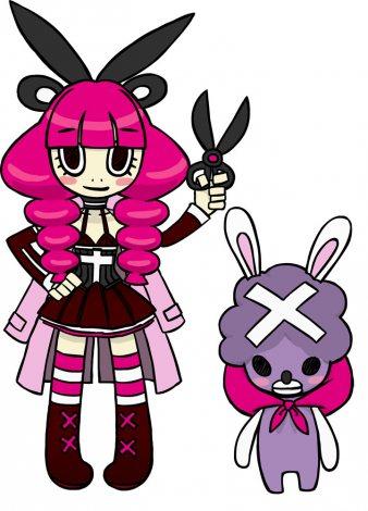 メインキャラクターのDr★モモ(左)とDr.ジジ