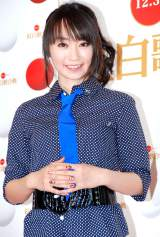『第62回NHK紅白歌合戦』のリハーサルを行った水樹奈々 (C)ORICON DD inc.