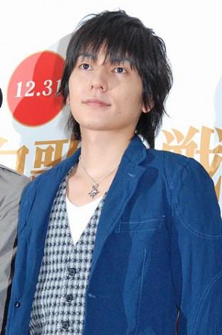 『第62回NHK紅白歌合戦』のリハーサルに臨んだ、flumpoolの山村隆太 (C)ORICON DD inc.