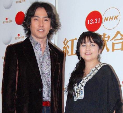 『第62回NHK紅白歌合戦』のリハーサルに臨んだ、(左から)秋川雅史と夏川りみ (C)ORICON DD inc.