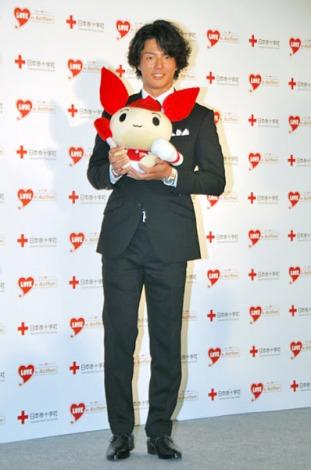 日本赤十字社の『はたちの献血キャンペーン』記者発表会に出席した石川遼 (C)ORICON DD inc.