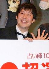 『100人の占い師による2012年超運ランキング』発表記念イベントに出席した佐久間一行 (C)ORICON DD inc.