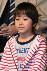 TBSの新ドラマ『ステップファザー・ステップ』の制作会見に出席した渋谷樹生 (C)ORICON DD inc.