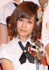 3位はAKB48の前田敦子 (C)ORICON DD inc.