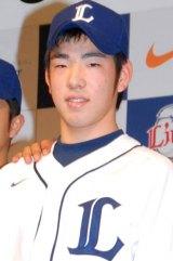 2012年『期待の新成人ランキング』10位の菊池雄星選手 (C)ORICON DD inc.