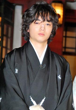 映画『ヒミズ』のヒット祈願イベントに出席した、染谷将太 (C)ORICON DD inc.