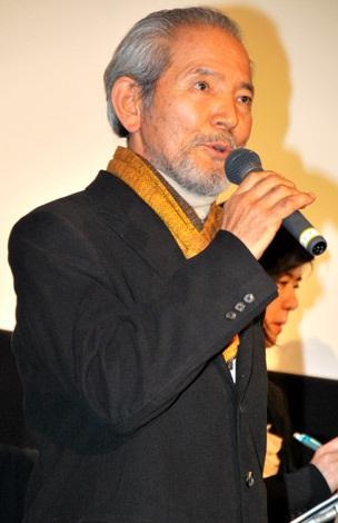 映画『マイウェイ 12,000キロの真実』初日舞台あいさつに出席した夏八木勲 (C)ORICON DD inc.