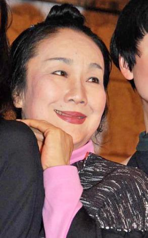舞台『サド公爵夫人』の記者発表会に出席した白石加代子 (C)ORICON DD inc.