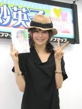 1stDVD『晴れのちドキドキ』の発売記念イベントを行った石田紗英子。 (C)ORICON DD inc.