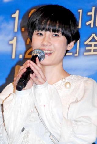 映画『しあわせのパン』のプレミア試写会イベントに登場した原田知世 (C)ORICON DD inc.