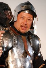 30キロの甲冑衣装で汗だくのケンドーコバヤシ (C)ORICON DD inc.