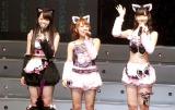 AKB48初の全国47都道府県ツアーとジャカルタ公演を発表 ※写真左から峯岸みなみ、高橋みなみ、柏木由紀(C)ORICON DD inc.