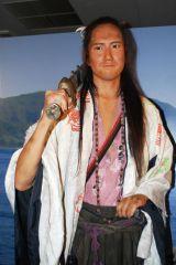 平清盛に扮した松山ケンイチの等身大フィギュアが神戸『ドラマ館』に登場