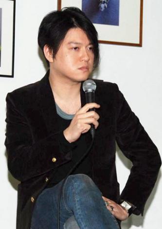 映画『セイジ-陸の魚-』のトークイベントに出席した、同作音楽監督の渋谷慶一郎氏 (C)ORICON DD inc.