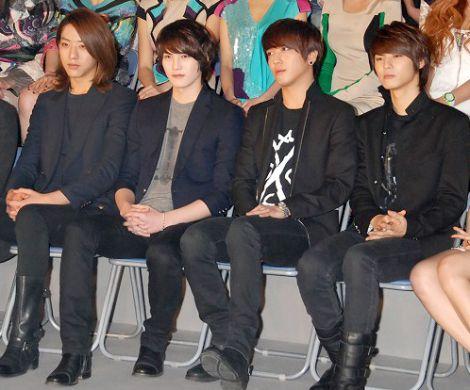 初の日韓合同ファッションイベント『Kiss(KOREAN INTERNATIONAL STYLE SHOW)』の記者会見に出席したCNBLUE (C)ORICON DD inc.