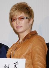 映画『劇場版テンペスト3D』初日舞台あいさつに登壇したGACKT (C)ORICON DD inc.
