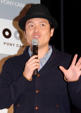 絶叫映画王座決定戦『Z-1グランプリ2012』の記者発表会に出席したインスタントジョンソン・すぎ。 (C)ORICON DD inc.