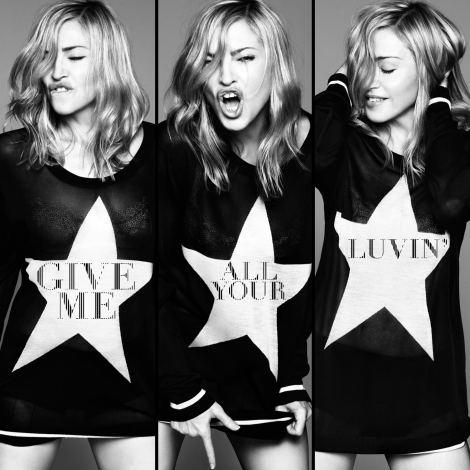 マドンナの最新シングル「ギヴ・ミー・オール・ユア・ラヴィン feat. ニッキー・ミナージュ&M.I.A.」は2月3日解禁