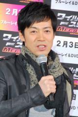 映画『ワイルド・スピード MEGA MAX』のブルーレイ&DVD発売記念イベントに出席したTake2・東貴博 (C)ORICON DD inc.