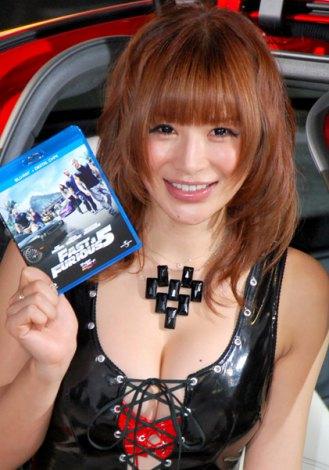 映画『ワイルド・スピード MEGA MAX』のブルーレイ&DVD発売記念イベントに出席した手島優 (C)ORICON DD inc.
