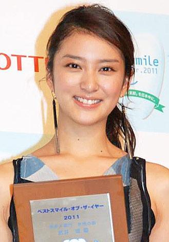 『ネクストブレイクランキング 2012』の「女優部門」3位に選ばれた、武井咲 (C)ORICON DD inc.