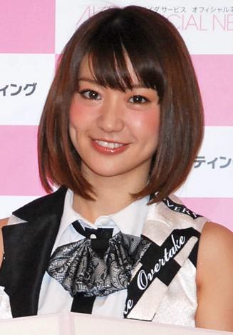 『ネクストブレイクランキング 2012』の「女優部門」5位に選ばれた、大島優子 (C)ORICON DD inc.