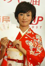 『ネクストブレイクランキング 2012』の「女優部門」8位に選ばれた、夏菜 (C)ORICON DD inc.