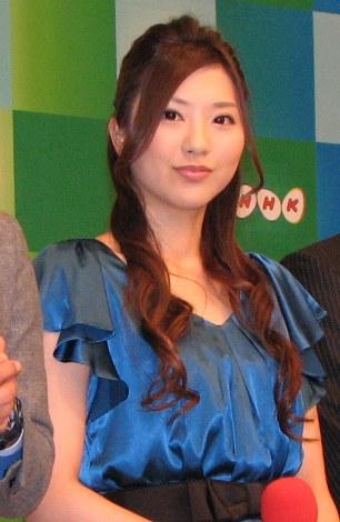 記者会見に登場した、NHK『サンデースポーツ』『サタデースポーツ』のキャスターをつとめる山岸舞彩。 (C)ORICON DD inc.