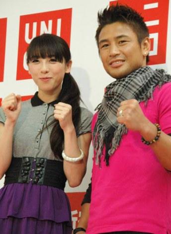 サムネイル 魔裟斗(右)・矢沢心夫妻、今夏に第1子誕生へ (C)ORICON DD inc.
