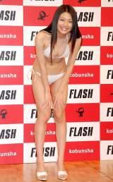『ミスFLASH2012』に選ばれた小松美咲 (C)ORICON DD inc.