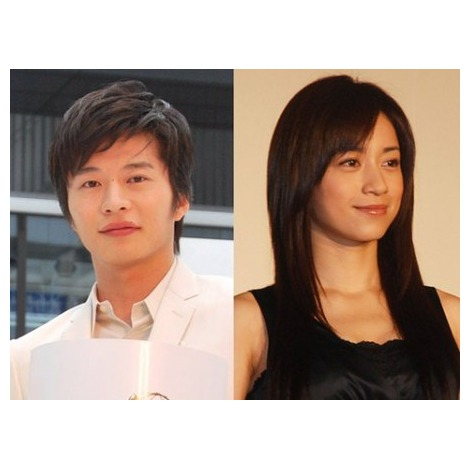 結婚を発表した 田中圭とさくら (C)ORICON