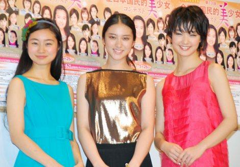 サムネイル (左から)忽那汐里、武井咲、剛力彩芽 (C)ORICON DD inc.