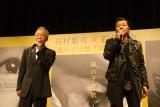「風の子守歌 〜明日の君へ〜」を熱唱する谷村新司と石井竜也 (C)ORICON DD inc.