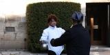初ドキュメンタリー番組『裸にしたい男「佐藤健」』でフェンシング指導を受ける佐藤健