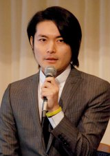 舞台『幻蝶』の製作発表会見に出席した脚本家・古沢良太氏 (C)ORICON DD inc.