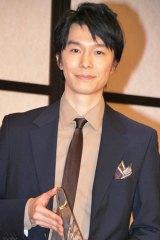 『2012年 エランドール賞』新人賞を受賞した長谷川博己 (C)ORICON DD inc.