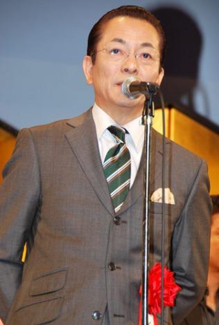 『2012年 エランドール賞』授賞式に出席した水谷豊 (C)ORICON DD inc.