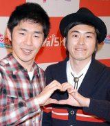 池田一真(左)と村上純