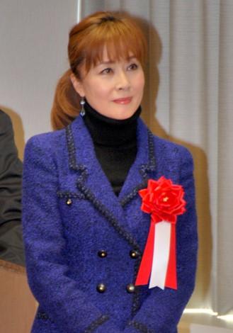 『第48回 日本クラウンヒット賞』贈呈式に出席した小柳ルミ子 (C)ORICON DD inc.