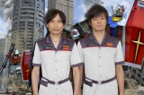 バラエティ番組『機動戦士ガンダム 第07板倉小隊 Re:boot(リブート)』に出演の板倉と森本