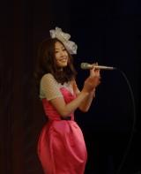 お台場で「Valentine Special Live」を開催したTiara