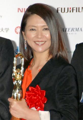 『第66回毎日映画コンクール』で女優主演賞を受賞した小泉今日子 (C)ORICON DD inc.