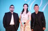 監督:陳正道(レスト・チェン) 中)林志怜(リン・チーリン) 右)黄渤(ファン・ボウ)