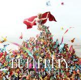 2/20付オリコン週間アルバムランキングで4年3ヵ月ぶりに首位に輝いた『BUTTERFLY』(2月8日発売)