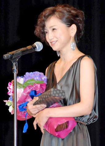 『第54回ブルーリボン賞』で主演女優賞を受賞した永作博美 (C)ORICON DD inc.