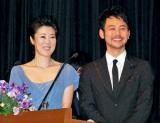 司会を務めた(左から)寺島しのぶ、妻夫木聡 (C)ORICON DD inc.