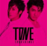 ランキング3位となった東方神起のアルバム『TONE』(2011年9月28発売)