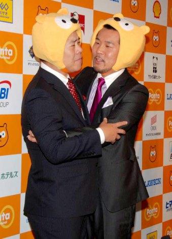 熱いキスは必死に拒むFUJIWARA・原西孝幸 (C)ORICON DD inc.